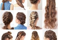 Awesome 15 cute and easy french braid hairstyles you need to try Different Hair Braid Ideas Inspirations