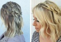 Awesome 17 chic braided hairstyles for medium length hair stayglam Quick Braided Hairstyles For Medium Hair Choices