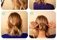 Awesome 20 incredible diy short hairstyles a step step guide Hairstyle For Short Hair For Wedding Step By Step Choices