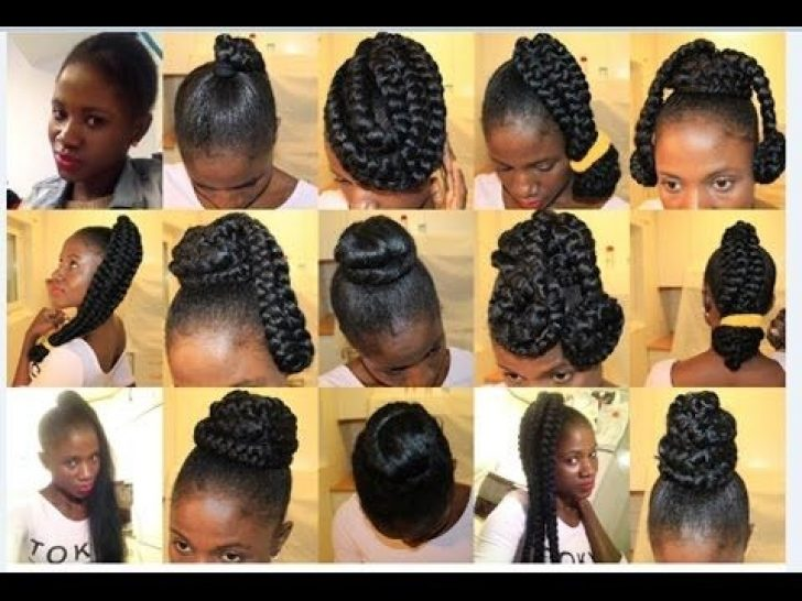 Permalink to 9 Unique Quick And Easy Hairstyles For African American Hair Gallery