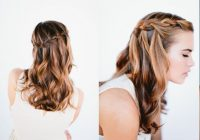 Awesome 21 braids for long hair with step step tutorials Cute Easy Braided Hairstyles For Long Hair Ideas