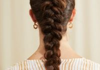 Awesome 22 seriously easy braids for long hair 2019 update Easy Braided Updos For Shoulder Length Hair Choices