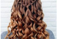 Awesome 25 best hairstyles for school dance 2018 dance hairstyles Braided Hairstyles For School Dances Choices