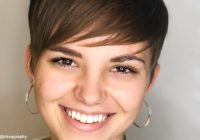 Awesome 27 perfectly cut short hair for round face shapes ideas for Short Hairstyle For Round Faces Choices