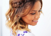 Awesome 3 easy hairstyles for short hair braids for short hair Luxy Hair Styles For Short Hair Inspirations