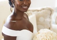 Awesome 30 beautiful wedding hairstyles for african american brides African American Wedding Hairstyles Medium Length Hair Designs