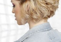 Awesome 30 easy hairstyles for short curly hair the trend spotter Quick Updos For Short Wavy Hair Ideas