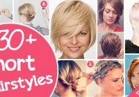 Awesome 30 short hairstyles for that perfect look cute diy projects Hairstyles For Short Hair Easy To Do Choices