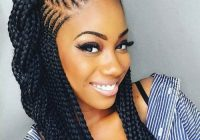 Awesome 35 best black braided hairstyles for 2020 african Best Braid Hairstyles Inspirations
