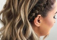 Awesome 35 cute braided hairstyles for short hair lovehairstyles Cute Braiding Hair Styles Choices