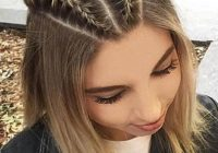 Awesome 35 cute braided hairstyles for short hair lovehairstyles Cute Hairdos For Short Hair Braids Inspirations