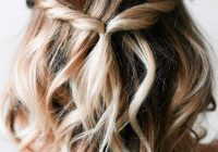 Awesome 36 five minute gorgeous and easy hairstyles lovehairstyles Cute Hairstyles For School Short Hair Ideas