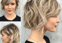 Awesome 38 short layered bob haircuts with side swept bangs that Short Bob Haircut With Bangs Ideas
