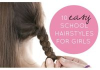 Awesome 39 easy school hairstyles for girls easy hairstyles for Hairstyles For Short Hair For School Dailymotion Choices