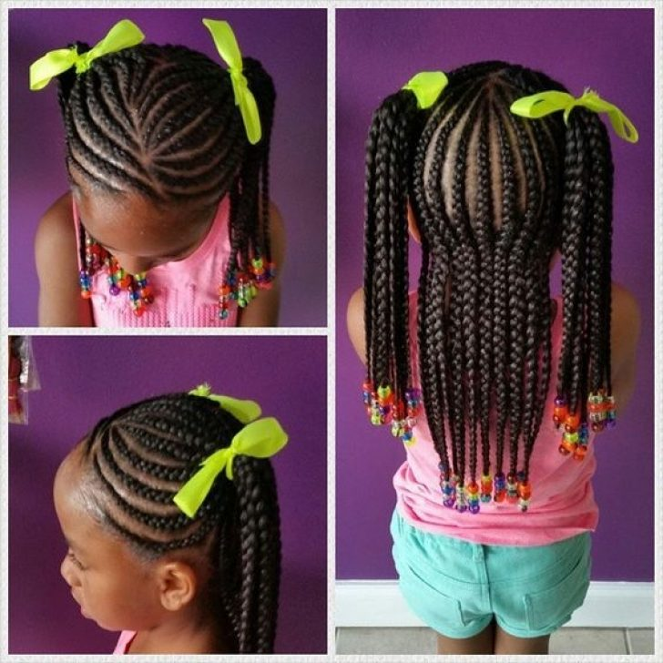 Permalink to New African American Little Girl Braid Styles