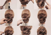 Awesome 40 everyday hair updo tutorials for summer thick wavy Braided Hairstyles For Thick Curly Hair Ideas
