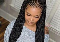 Awesome 41 best black braided hairstyles to stand out eazy glam Latest African Braided Hairstyles Inspirations