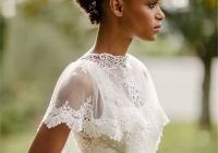 Awesome 47 wedding hairstyles for black women to drool over 2019 Short Hairstyles For Black Bridesmaids Ideas