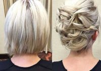 Awesome 48 sexy and sassy updos for short hair Cute Updo Hairstyles For Short Hair Inspirations