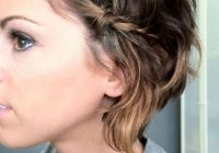 Awesome 48 sexy and sassy updos for short hair Easy Updos For Short Hair Casual Inspirations
