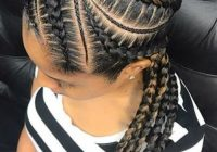 Awesome 50 mega natural hairstyles pack for black women new African Cute French Braid Hairstyles Inspirations