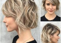 Awesome 50 ways to wear short hair with bangs for a fresh new look Short Hairstyles With Side Bangs And Layers Inspirations