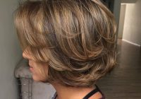Awesome 60 cute short hairstyles for thick hair fallbrook247 Short Layered Styles For Thick Hair Ideas