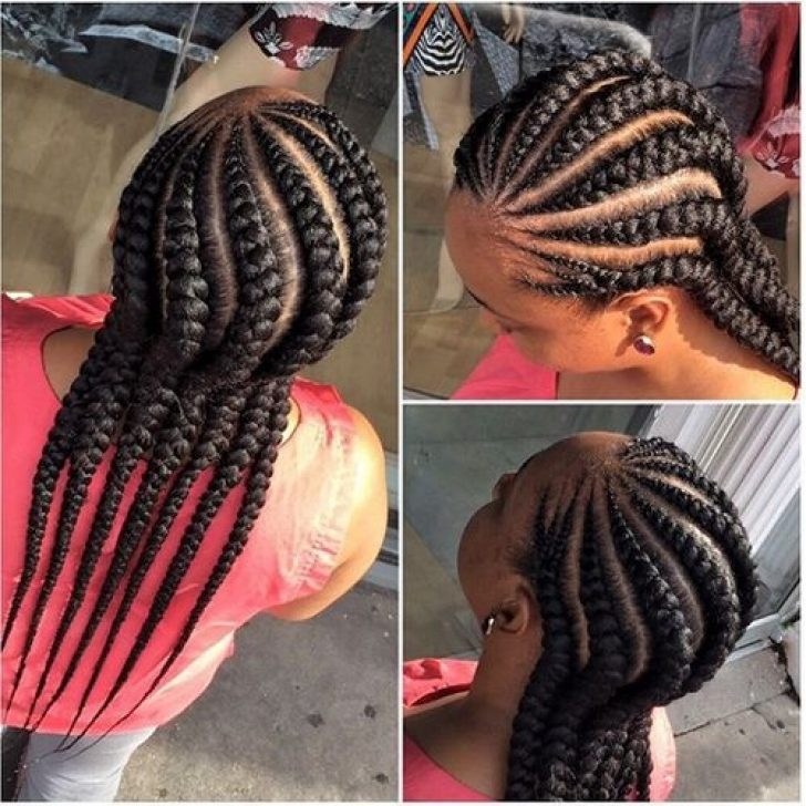 Permalink to New African American Hair Braids Cornrows Inspirations