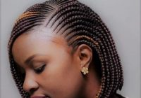 Awesome best braided hairstyles for short hair black in 2019 Short Hair Styles With Braids Inspirations