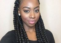 Awesome box braids african american braided updo hairstyle African American Box Braids Ideas
