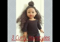 Awesome braided headband doll hairstyles american girl youtube Cute Hairstyles For American Girl Dolls With Curly Hair Designs
