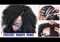 Awesome crochet braid using ceressistar hair kenyan hair youtube Ways To Braid Your Hair For Crochets Choices