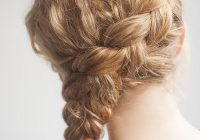 Awesome curly side braid hairstyle tutorial hair romance Simple Braided Hairstyles For Long Curly Hair Inspirations