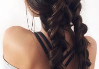 Awesome double dutch braids with chocolate brown luxy hair Luxy Hair Styles For Short Hair Choices