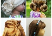Awesome easy american girl hairstyles even little girls can do Cool Easy Hairstyles For American Girl Dolls Ideas