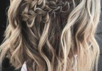 Awesome easy wedding hairstyles you can diy wedding forward Simple Hairstyles For Short Hair For Weddings Ideas