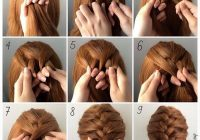 Awesome fashionable braid hairstyle for shoulder length hair Braid Hairstyles For Medium Length Hair Step By Step Inspirations