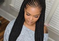 Awesome feed in braids ponytail africanbraids braiding Black Hair Braid Styles Ideas