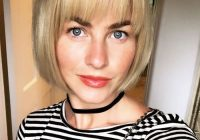 Awesome found 50 super flattering bobbed hairstyles for fine hair Short Bob Haircuts With Bangs For Fine Hair Ideas