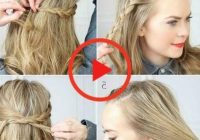 Awesome french braid 30 french braids hairstyles step step how Hair Styles Braids Step By Step Ideas
