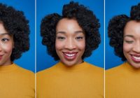 Awesome heatless curls with flexi rods on natural hair Flexi Rod Styles For Short Hair Inspirations