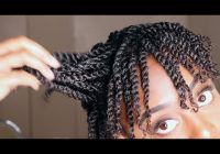 Awesome how to mini twist on short natural 4b4c hair gloria ann Twist Styles For Short Hair Inspirations