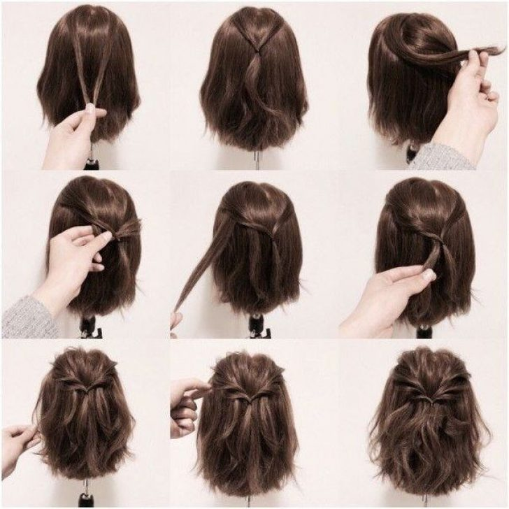 Permalink to 10 Awesome Easy Style For Short Hair Gallery