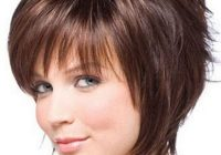 Awesome pin on hairstyles Short Hairstyle For Round Faces Inspirations