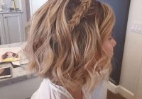 Awesome rock prom night with these 50 cool as you can get hairstyles Prom Hairstyles For Short Hair With Braids Ideas