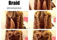 Awesome simple hairstyles for long hair step step braids for Hair Styles Braids Step By Step Choices