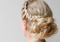Awesome the best prom hairstyles for all hair lengths thetrendspotter Prom Updos For Medium Hair With Braids Inspirations