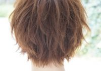 back view of layered hairstyles cute asian hairstyle back Back View Of Short Layered Haircuts Inspirations