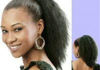 Best 10 cute ponytails for short african american hair Cute Ponytail Hairstyles For Black Short Hair Choices