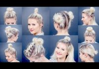 Best 10 easy updo tutorials for short hair milabu youtube Quick Updo Hairstyles For Short Hair Choices